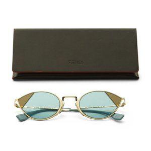 NWT FENDI Made In Italy Cat Eye Sunglasses